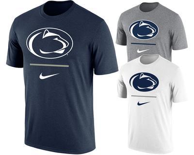 NIKE - Penn State Nike Men's Dri-Fit Cotton T-Shirt