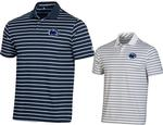 Penn State Under Armour Performance Stripe Polo