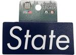 Penn State Rugged Futura State Sticker