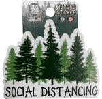 Penn State Rugged Social Distance Sticker