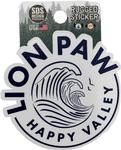 Penn State Rugged Lion Paw Sticker