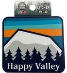 Penn State Rugged Happy Valley Mountains Sticker