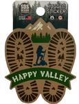 Penn State Rugged Hike Happy Valley Sticker