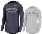Penn State Nike Men's Long Sleeve Marled Hood