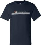 Penn State Champion Happy Valley Stripe T-Shirt NAVY