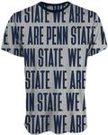Penn State Men's Sublimated Gutsy T-Shirt HEATHERNAVY