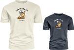 Penn State Life is Good Football Dog T-Shirt IVORY