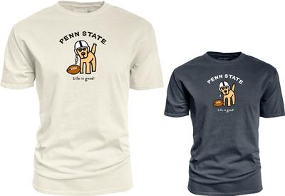 Blue 84 - Penn State Life is Good Football Dog T-Shirt