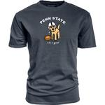 Penn State Life is Good Football Dog T-Shirt NAVY