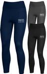 Penn State Under Armour Women's Carbonized Leggings NAVY