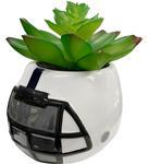 Penn State Faux Plant Helmet WHITENAVY