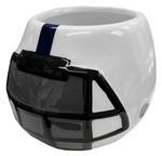 Penn State Mini Helmet Ceramic Container WHITENAVY