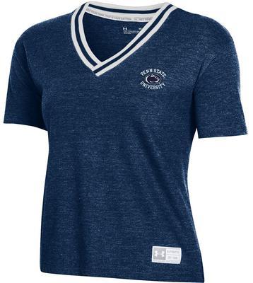 UNDER ARMOUR - Penn State Under Armour Women's Gameday V-neck Tshirt