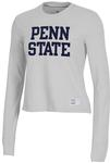Penn State Under Armour Womens Gameday Long Sleeve SILVER HEATHER