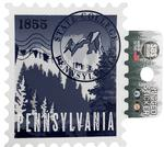 Penn State Rugged Stamp Sticker