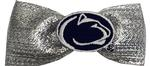 Penn State Shimmer Tux Bow