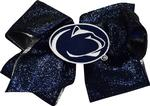 Penn State King Glitzy Bow SILVER