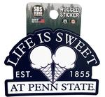 Penn State Rugged Ice Cream Cone Sticker