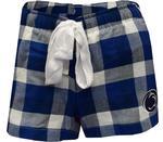 Penn State Women's Flannel Breakout Shorts