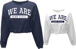 Penn State Women's Cinch Waisted Cropped Sweatshirt