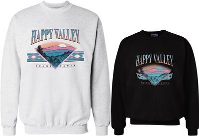 B-Unlimited - Happy Valley Ozark Mountains Crewneck Sweatshirt