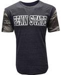 Penn State Camo Contrast T-shirt NAVYHTHR