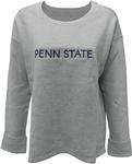 Penn State Women's Ribbed Crewneck Sweatshirt