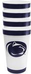 Penn State 16oz 4 Pack Stadium Cups WHITENAVY