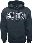 Penn State Logo Arch Hooded Sweatshirt NAVY