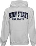 Penn State Logo Arch Hooded Sweatshirt WHITE