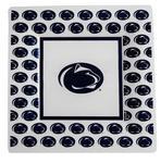 Penn State 6.5 Plastic Plate 8-pack WHITENAVY