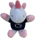 Penn State Unicorn Plush Keychain