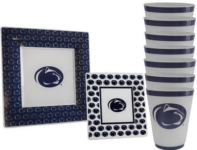 WNA, INC. - Penn State Plastic Tableware Tailgate Kit