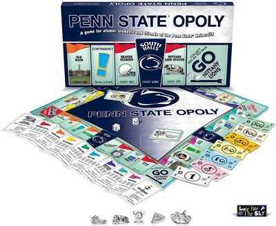 LATE FOR THE SKY - Penn Stateopoly Board Game