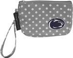 Penn State Polka Dot Wristlet
