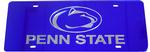 Penn State Acrylic License Plate