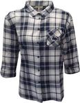 Penn State Women's Boyfriend Plaid Dress Shirt