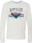 Happy Valley Ozark Mountains Long Sleeve T-Shirt ASH GREY