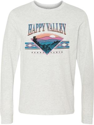 B-Unlimited - Happy Valley Ozark Mountains Long Sleeve T-Shirt