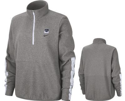 NIKE - Penn State Women's Nike Therma Fleece Half Zip
