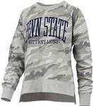 Penn State Women's Oakland Camo Crewneck Sweatshirt