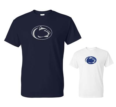The Family Clothesline - Penn State Logo Sparkle T-shirt