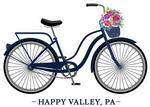 Happy Valley Bicycle Rugged Sticker