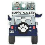 Happy Valley Jeep Rugged Sticker