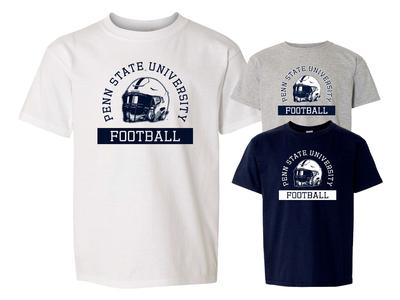 The Family Clothesline - Penn State Youth Football Helmet T-shirt