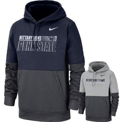 NIKE - Penn State Nike Therma Sideline Pullover Hooded Sweatshirt