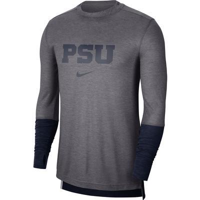 NIKE - Penn State Nike Player Sideline Long Sleeve T-shirt