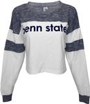 Penn State Women's Cozy Colorblock Cropped Sweatshirt