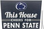 Penn State This House Lawn Sign