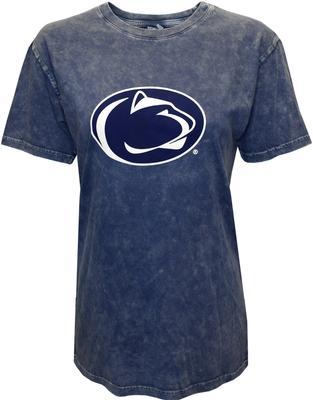 Chicka-D - Penn State Women's Mineral Wash Logo T-Shirt